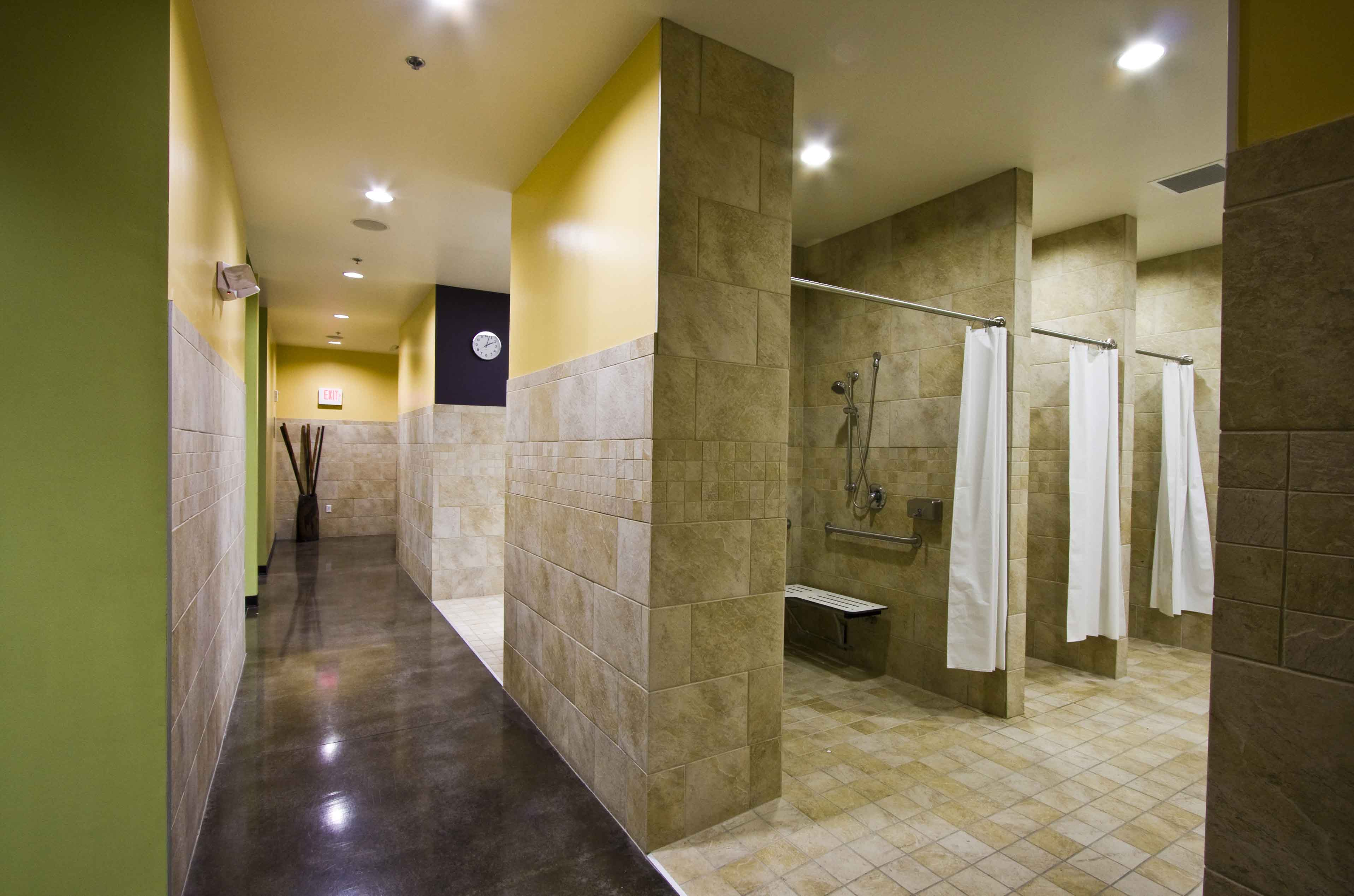 A little bathroom architectural photographs