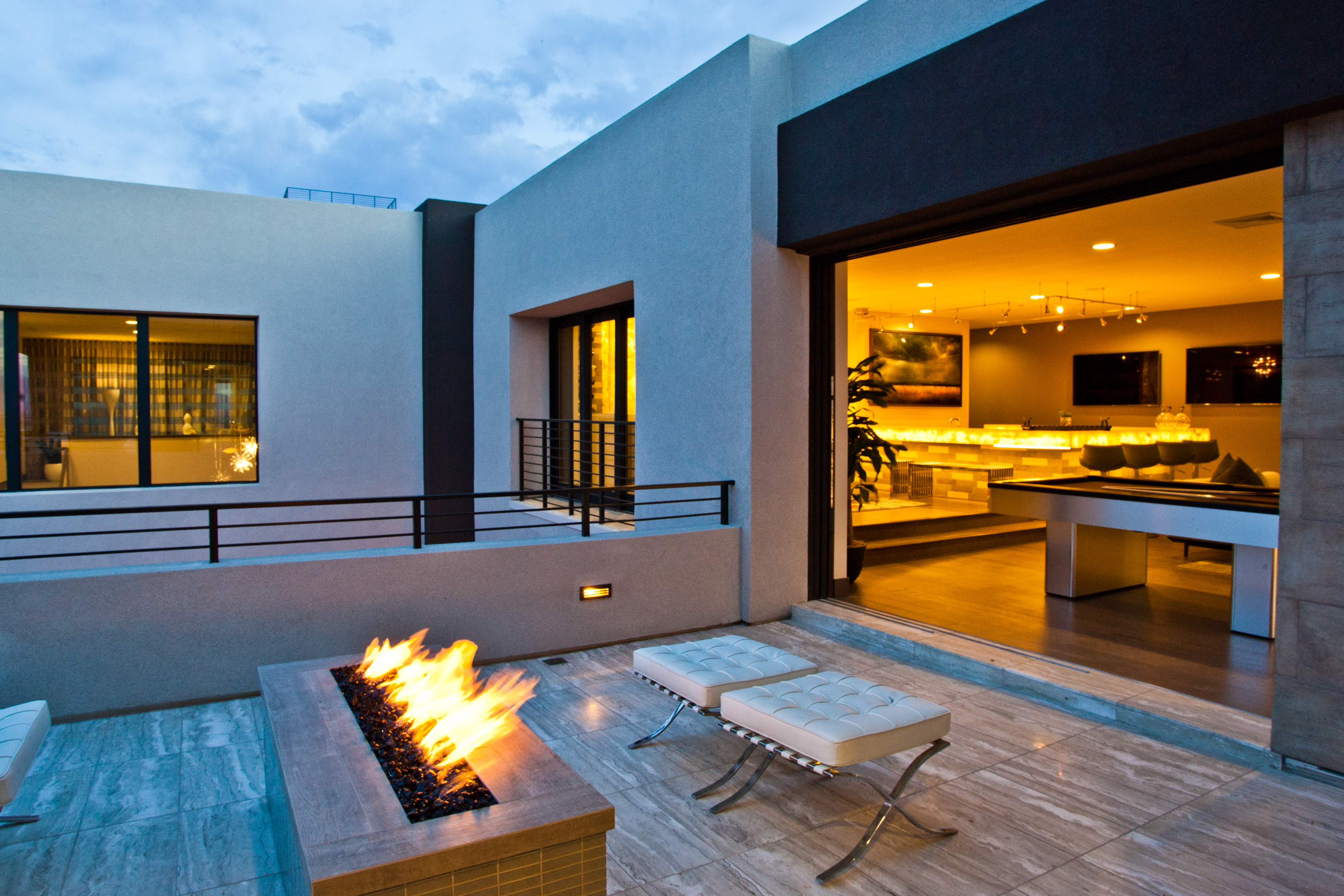 Architectural photography in Las Vegas real estate-Outside patio