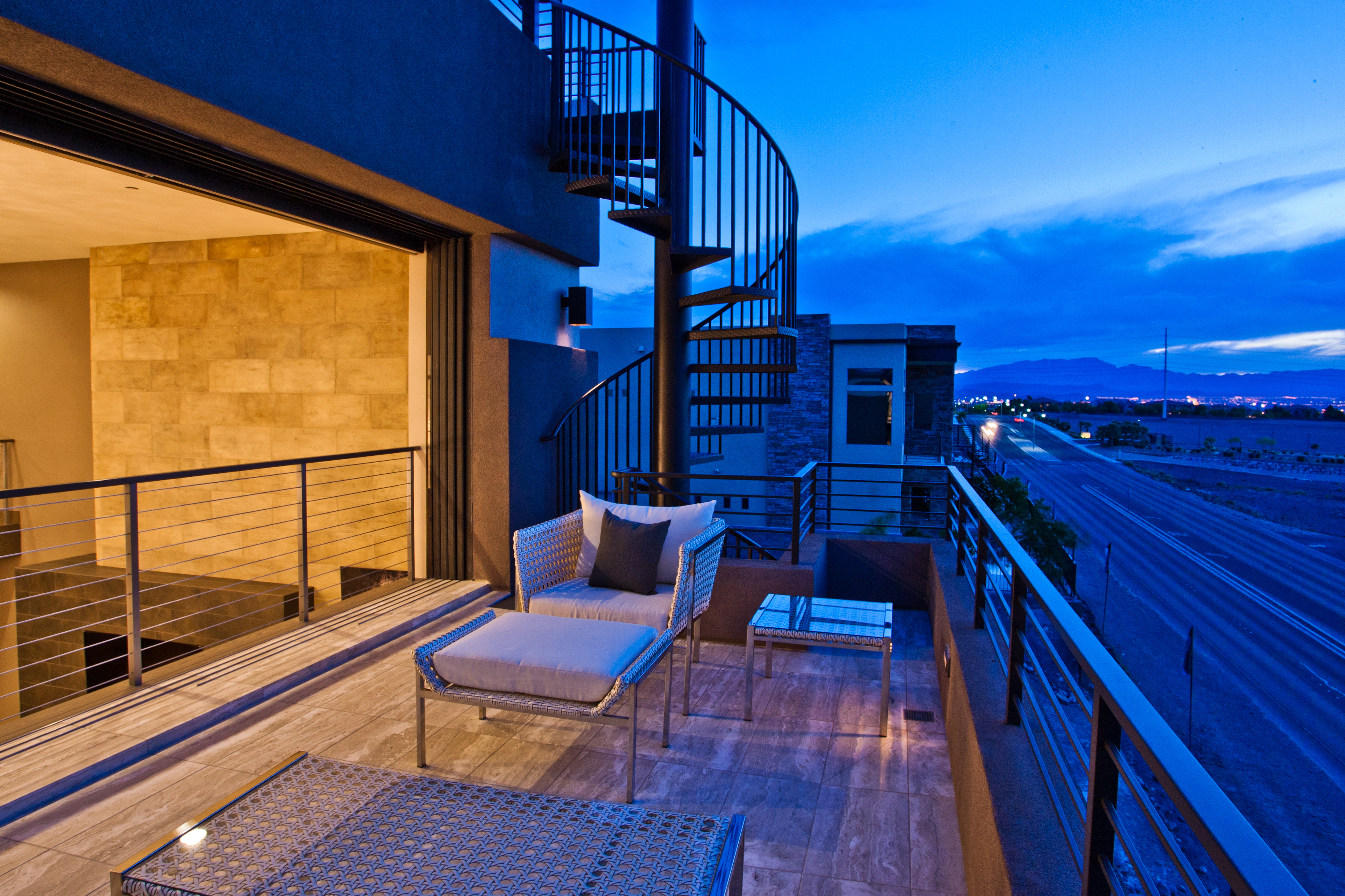 Outside architectural photography in Las Vegas real estate